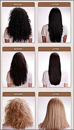 Manson Ku美髮專欄: 巴西焗油與負離子的分別